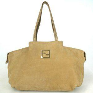 Auth Fendi Tote Bag Leather #4444F68